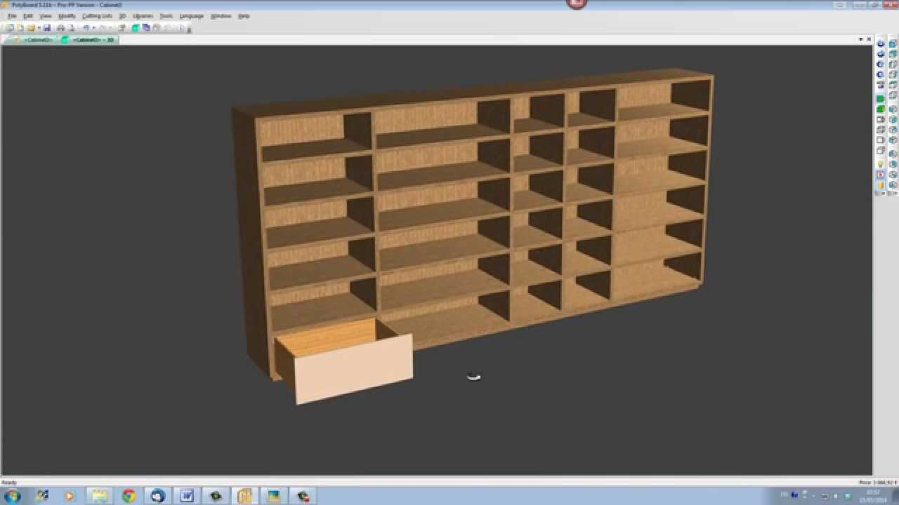Furniture Design Software: Quick and Easy Design with Polyboard - YouTube