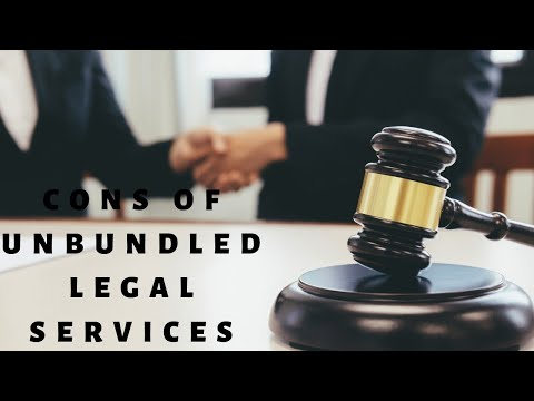 What are Cons of using Unbundled Legal Services   West Palm Beach Divorce Attorney Charles Jamieson