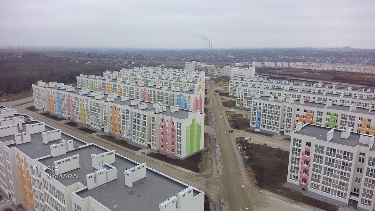 Кошелев проект / 20 и 24 очередь / новая школа и садик #Самара #Samara -  YouTube