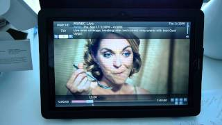 Sagetv on Asus EP121 tablet eee pad
