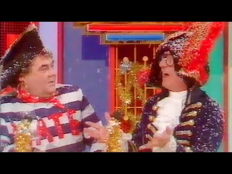 Double Dare: Little and Large vs Bread 1987  FULL EPISODE