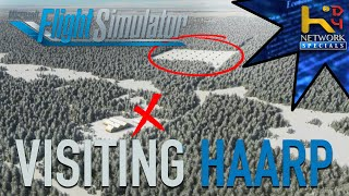 Checking out HAARP in ALASKA - MSFS2020