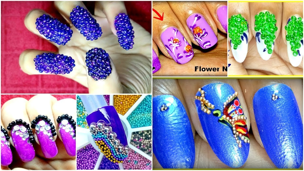 7 Different Types Of Nail Polish Designs 2018 Youtube