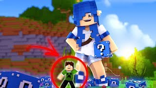 MOONKASE GIGANTE VS. LUCKY BLOCK AZUL !! - Minecraft (Com MoonKase)