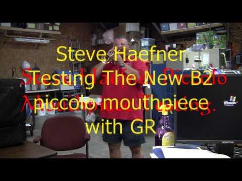 Steve Haefner Prototype Piccolo Trumpet Mouthpiece