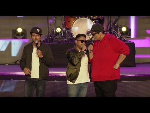 Abish Matthew, AIB and Kenny Sebastian  @ YouTube FanFest India 2017