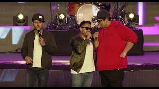 Abish Mathew, AIB and Kenny Sebastian  @ YouTube FanFest India 2017