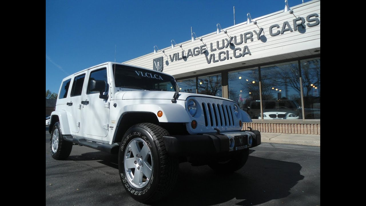 2012 Jeep Wrangler Unlimited Sahara Edition In Review Village