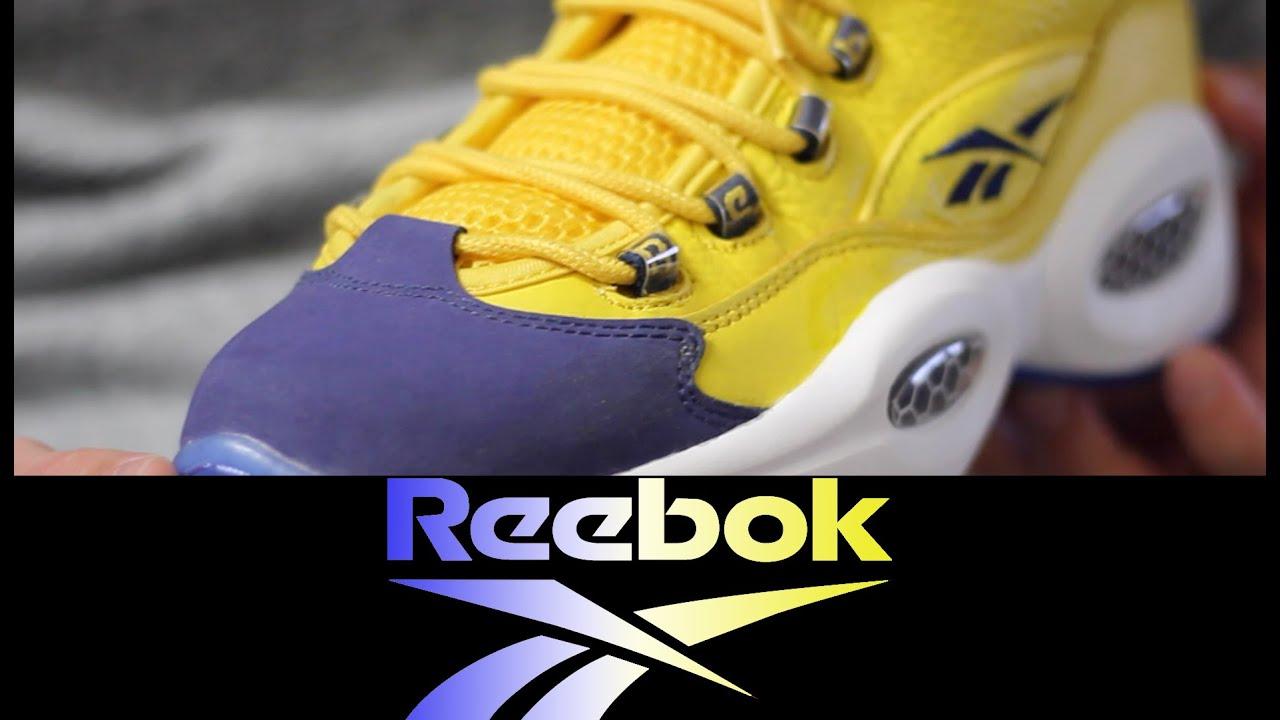 1bcb12586a0 Reebok Question  Unworn  aka  All-Star  - YouTube