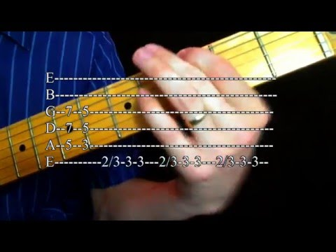 Learn Ten David Bowie Guitar Riffs (with tab)