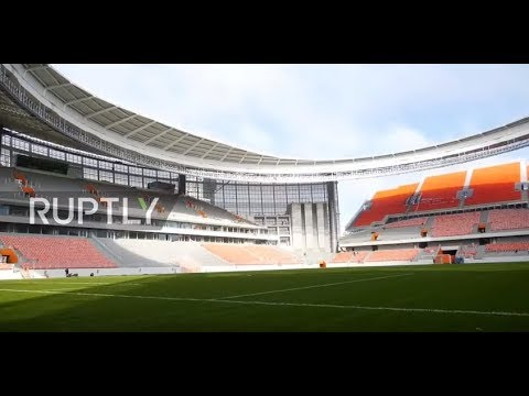 Russia: 'Ready by 90%' - FIFA satisfied with Yekaterinburg Arena construction ahead of World Cup