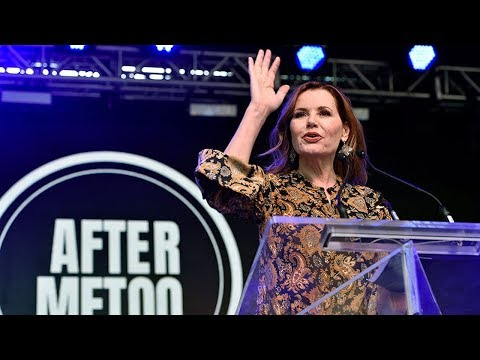 Geena Davis ShareHerJourney Speech at TIFF18 Rally