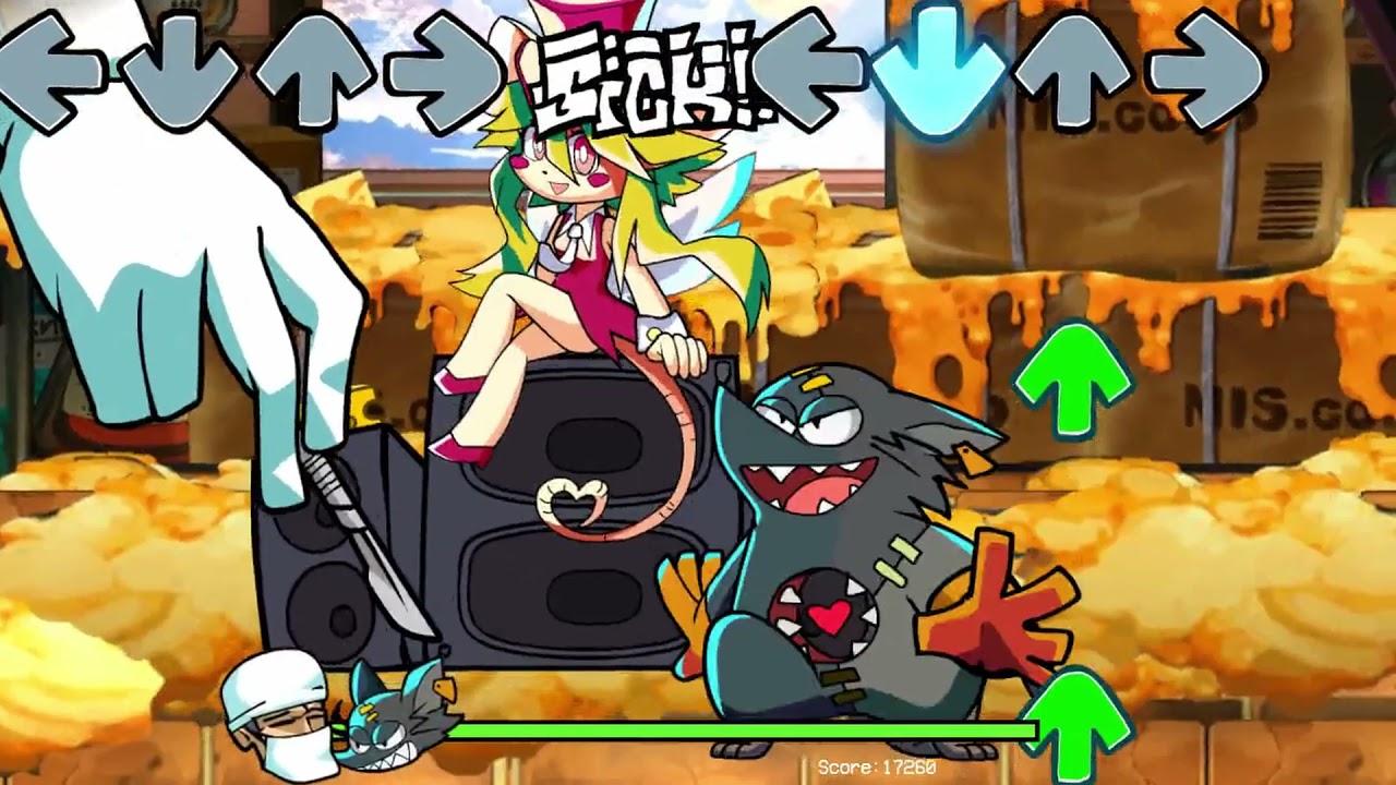 Mad Rat Dead x FNF progress preview/update.