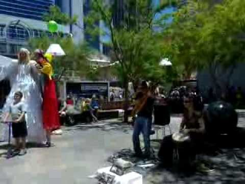 Laliya- Perth street performers