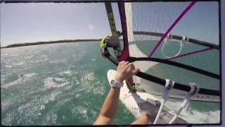 Windsurfing Salinas Puerto Rico 01 / 2015