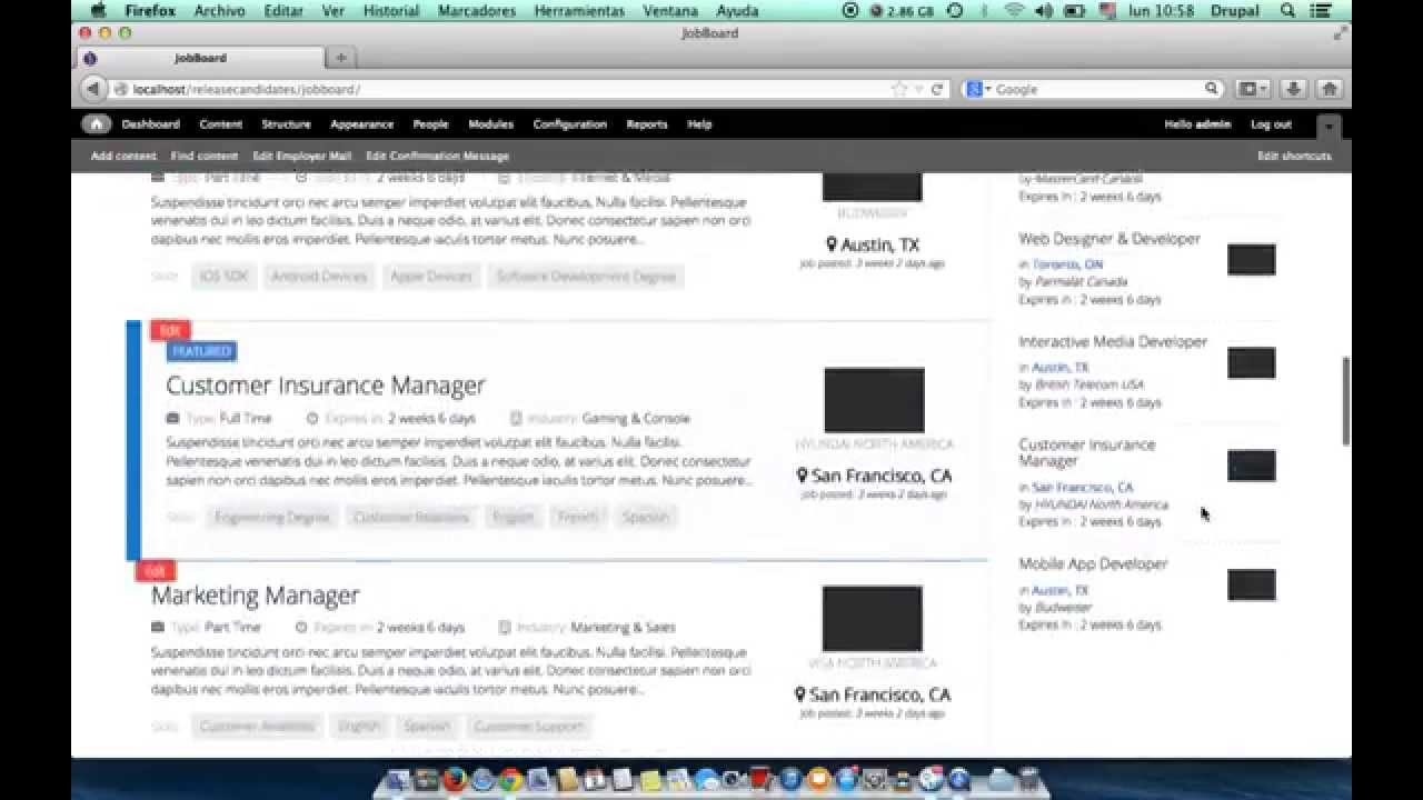 installing jobboard jobboard drupal job classified theme installing jobboard jobboard drupal job classified theme