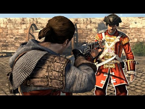 Assassin's Creed Rogue Templar 11th Century Outfit & Shay's Jokes