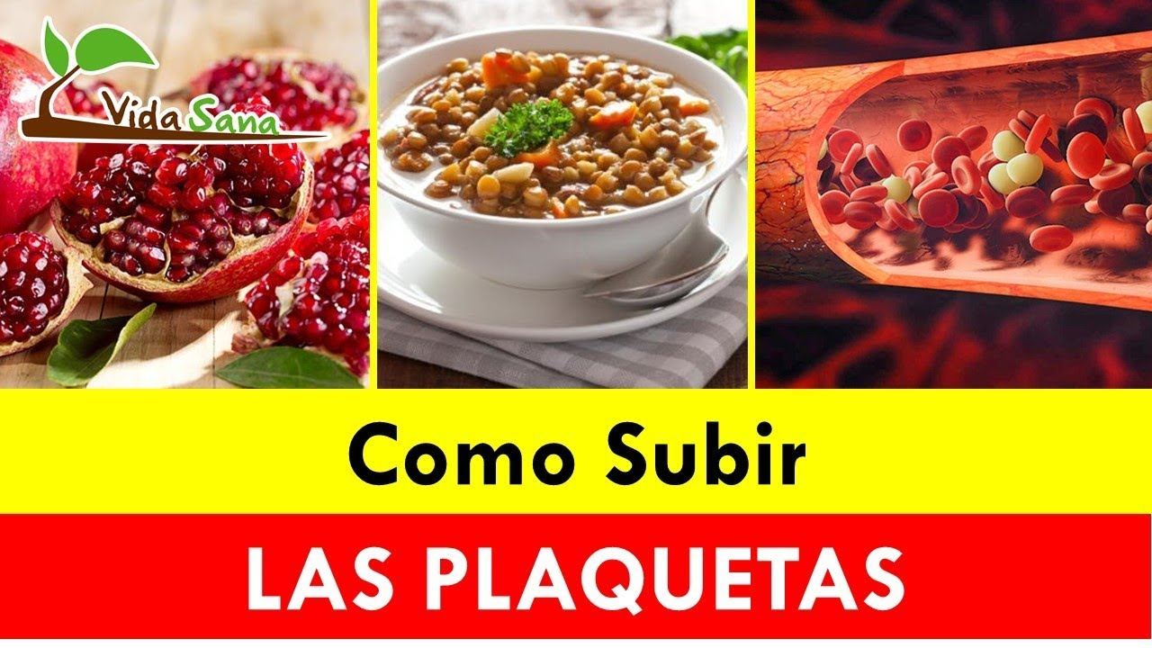 medicamentos para aumentar plaquetas sangre