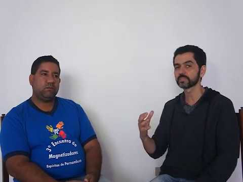 Entrevista de Wandson Marçal no curso de Magnetizadores em Garanhuns