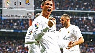 Real Madrid 3-1 Real Sociedad (La Liga 2015/16, matchday 17)