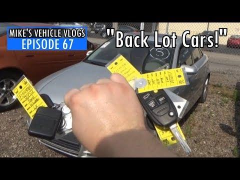 "VEHICLE VLOG 67 - ""Back Lot Cars"""