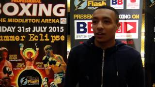 Zelfa Barrett talks sparring Crolla and becoming a future world champ