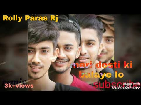 Meri Dosti Ki Balaye Lo Full Video Song || Mr Faisu Friendship || New Cover Song.