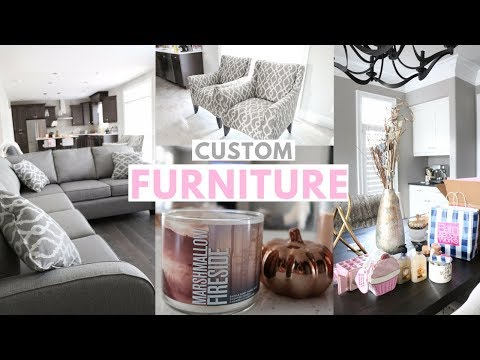 OUR CUSTOM FURNITURE ARRIVED!🏡💕 -SLMissGlamVlogs🏡💕