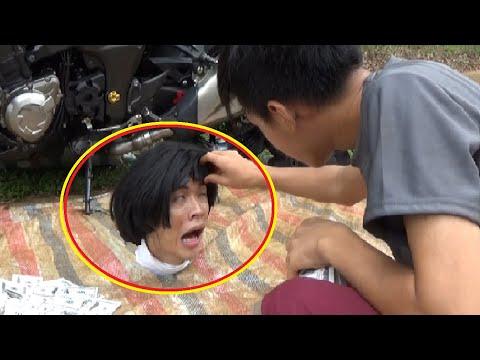 Phim Hài: Anh Mù Cưỡi Z1000 Đi Ăn Xin 😂(Blind Beggar owns Z1000 Motorcycles😂)