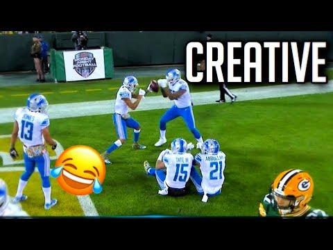 NFL Creative Touchdown Celebrations || HD