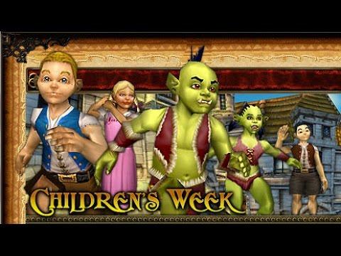 WoW: Outlands Children's Week - Alliance