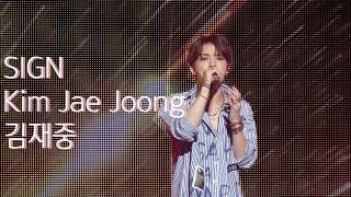 181013 김재중 일본 시가 비와코홀 콘서트 1st single album title song...