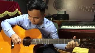 Solo Guitar Bolero bằng 1 ngón tay ( Chuyện hoa sim)