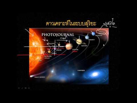 เรียนวิทย์ ป.6 จักรวาลอวกาศ ภาค1