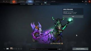 Ultra rare Astral Drift  od  Dota 2 the international Immortal treasure II lucky drop