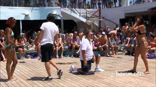 Carnival Cruise  beauty contest