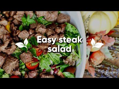 Easy Steak Salad