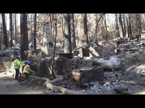 Corpsmembers Protect Watersheds in Fire Aftermath