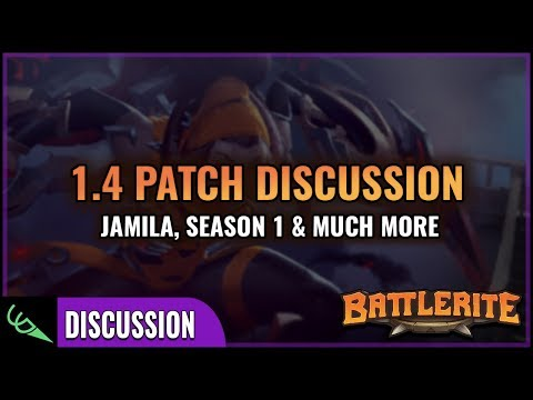 Season 1, Jamila & Lots More - 1.4 Patch Notes Discussion | Battlerite from YouTube · Duration:  35 minutes 15 seconds