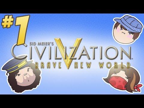 Civilization V: Brave New World - PART 1 - Steam Train