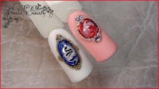 """Дизайн ногтей в технике """" Жидкий камень """". Текстура натурального камня"""