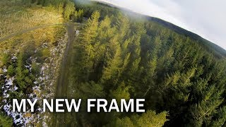 "Testing my brand new original frame ""JOY"" for FPV racing and exploration"