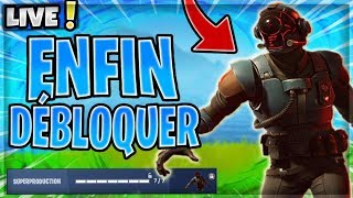 🔴JE DEBLOQUE THE SKIN -SUPERPRODUCTION- At 10H ON FORTNITE!✅- Live Gameplay🔴