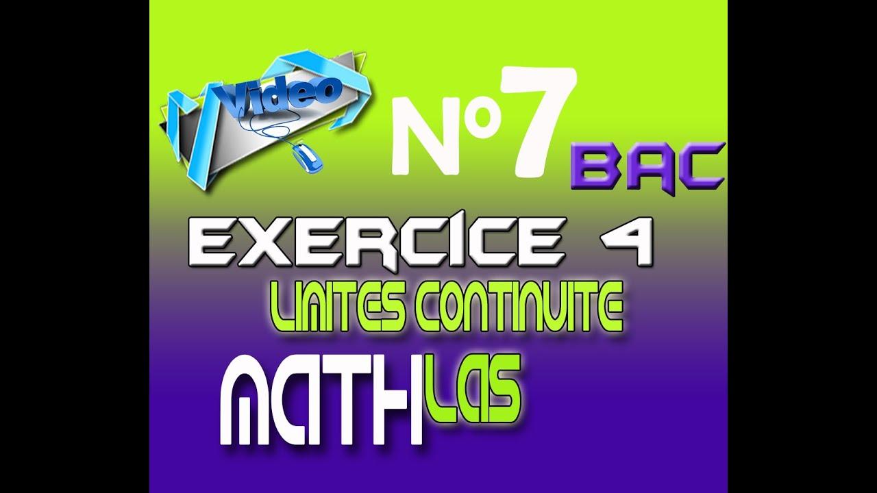 exercice 4_corrigé-limites_continuité (leçon4) - YouTube