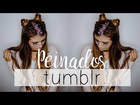 4 Peinados Tumblr Faciles Youtube