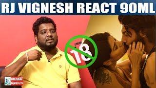 Oviya -க்கு 90ML தேவையா ?  Rj Vignesh strong Reply to Adult Movies | Vj Muni | Chennai Express