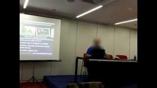 PRESENTACION BIOSOCYR y SENDERO DE FAVORES EN BIOCULTURA 2012 PARTE 1