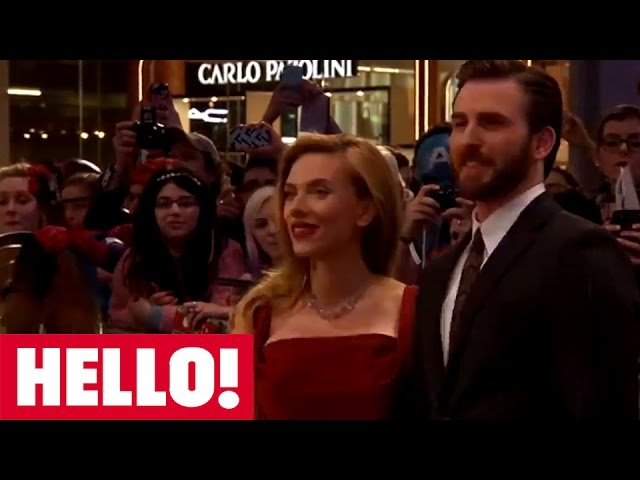 Captain America The Winter Soldier Scarlett Johansson Samuel L Jackson Co Stars Chat To Hello