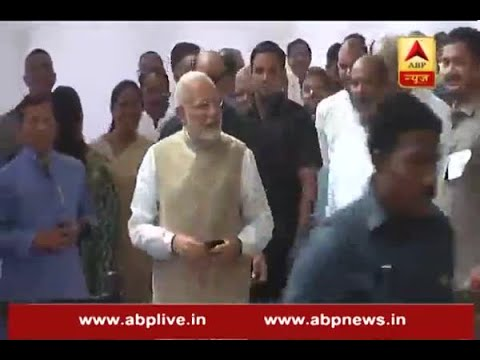 Presidential Election 2017: PM Modi reached three minutes prior to voting time