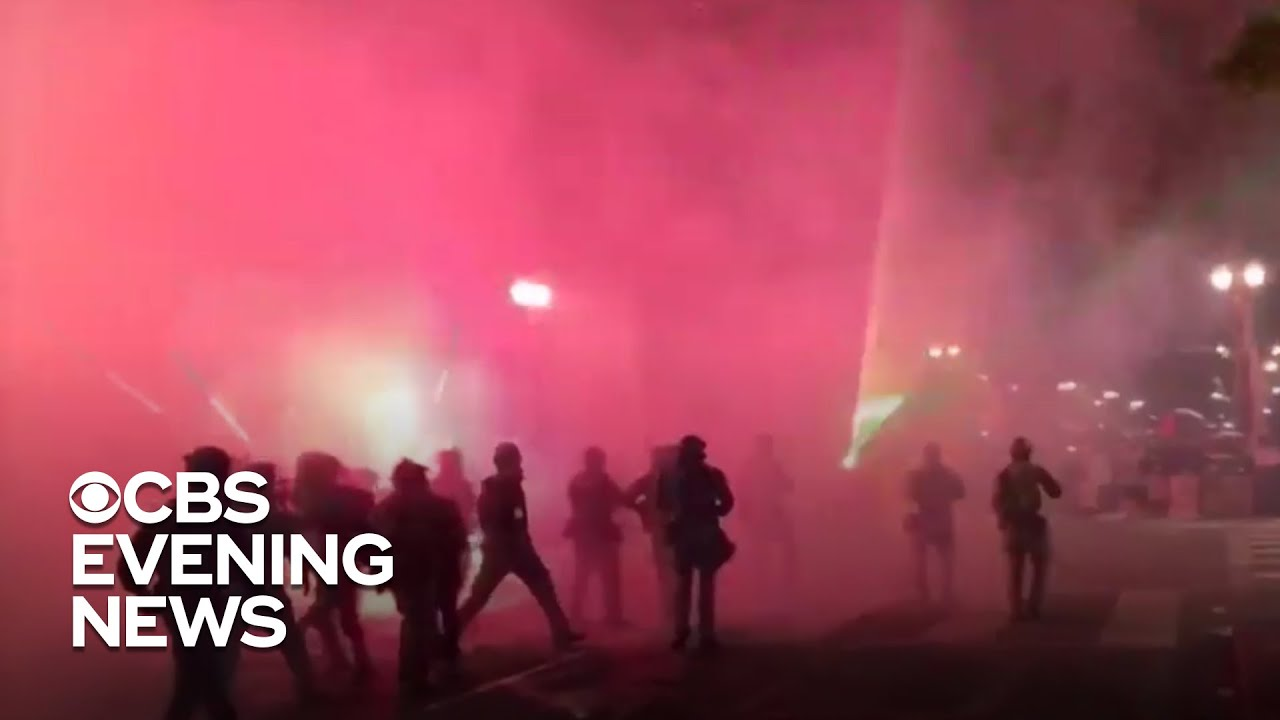 Peaceful protesters continue to clash with federal agents in Portland